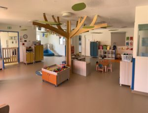 Les Mésanges - la salle d'activité